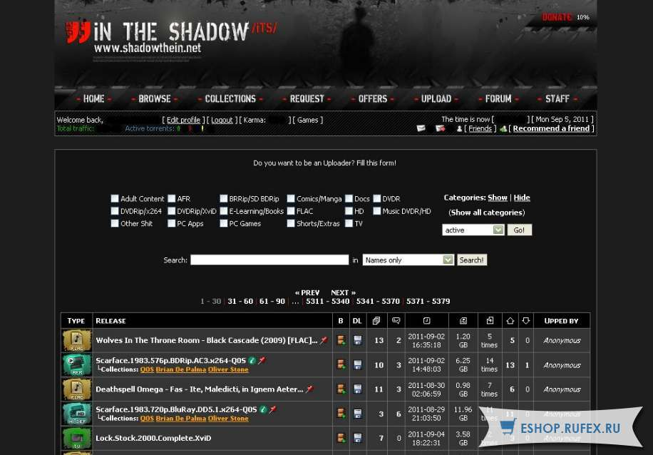 Инвайт на Shadowthein.net / ITS